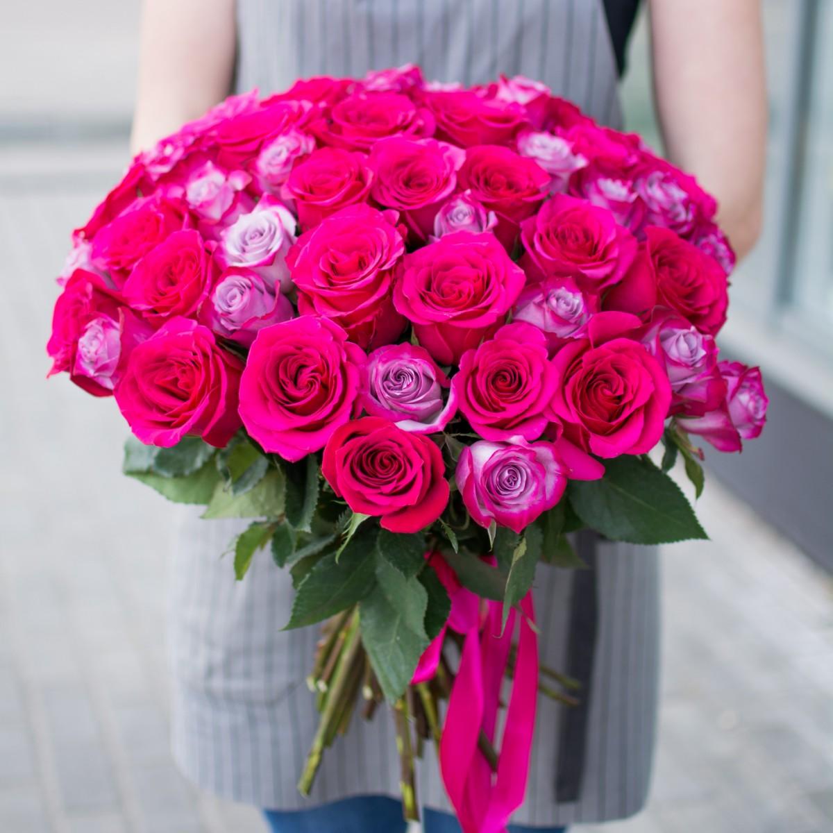 Акция 51 роза 40 см