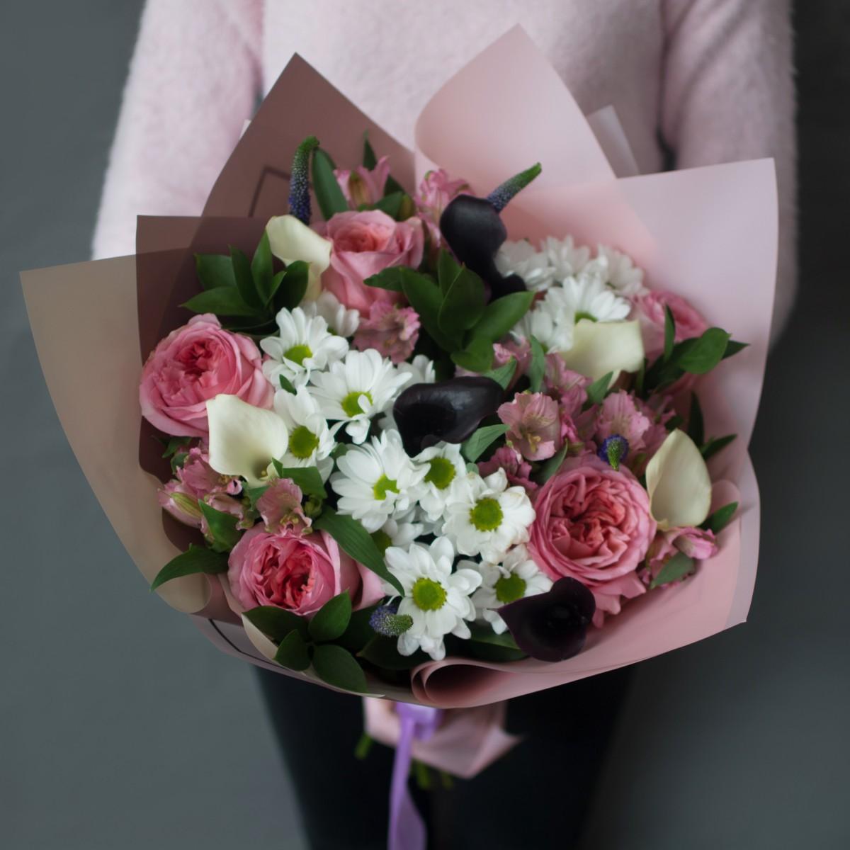 Букет «Самой-желанной» с пионовидной розой