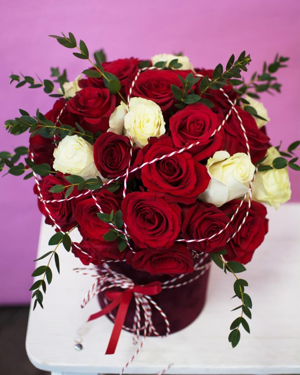 Цветочная коробка 27