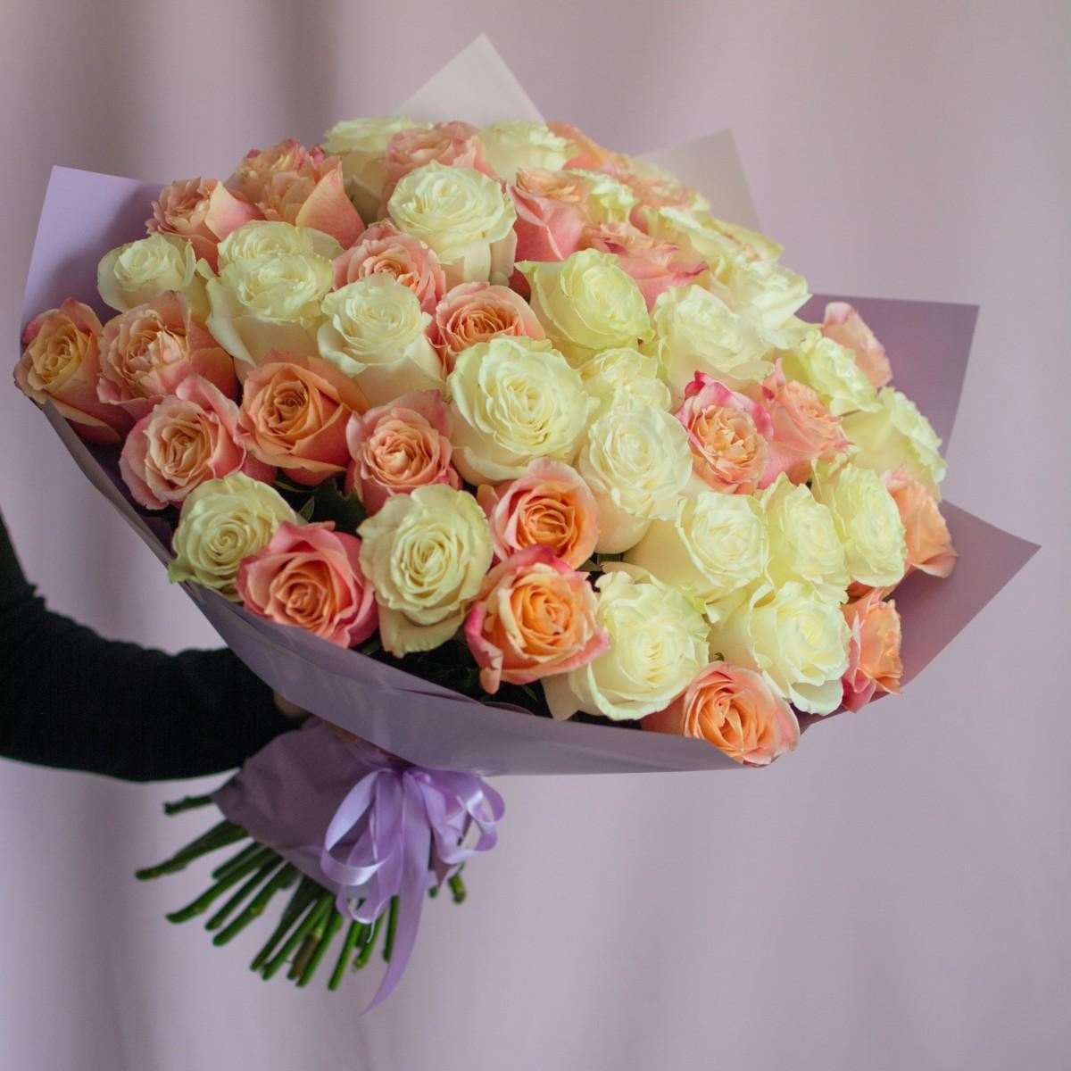 """51 роза """"Сочность"""""""