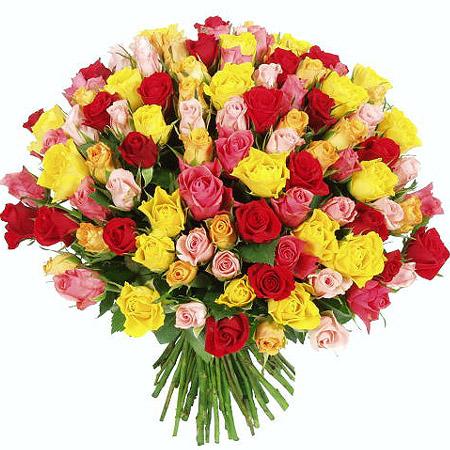 Акция 101 роза 40 см