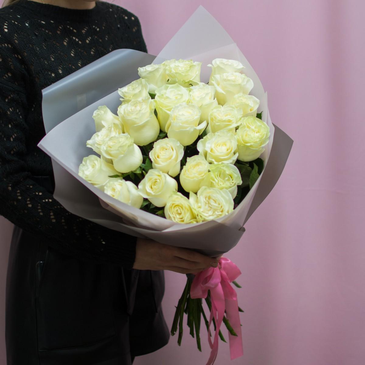 Букет «Mondial» из 25 роз по 60 см