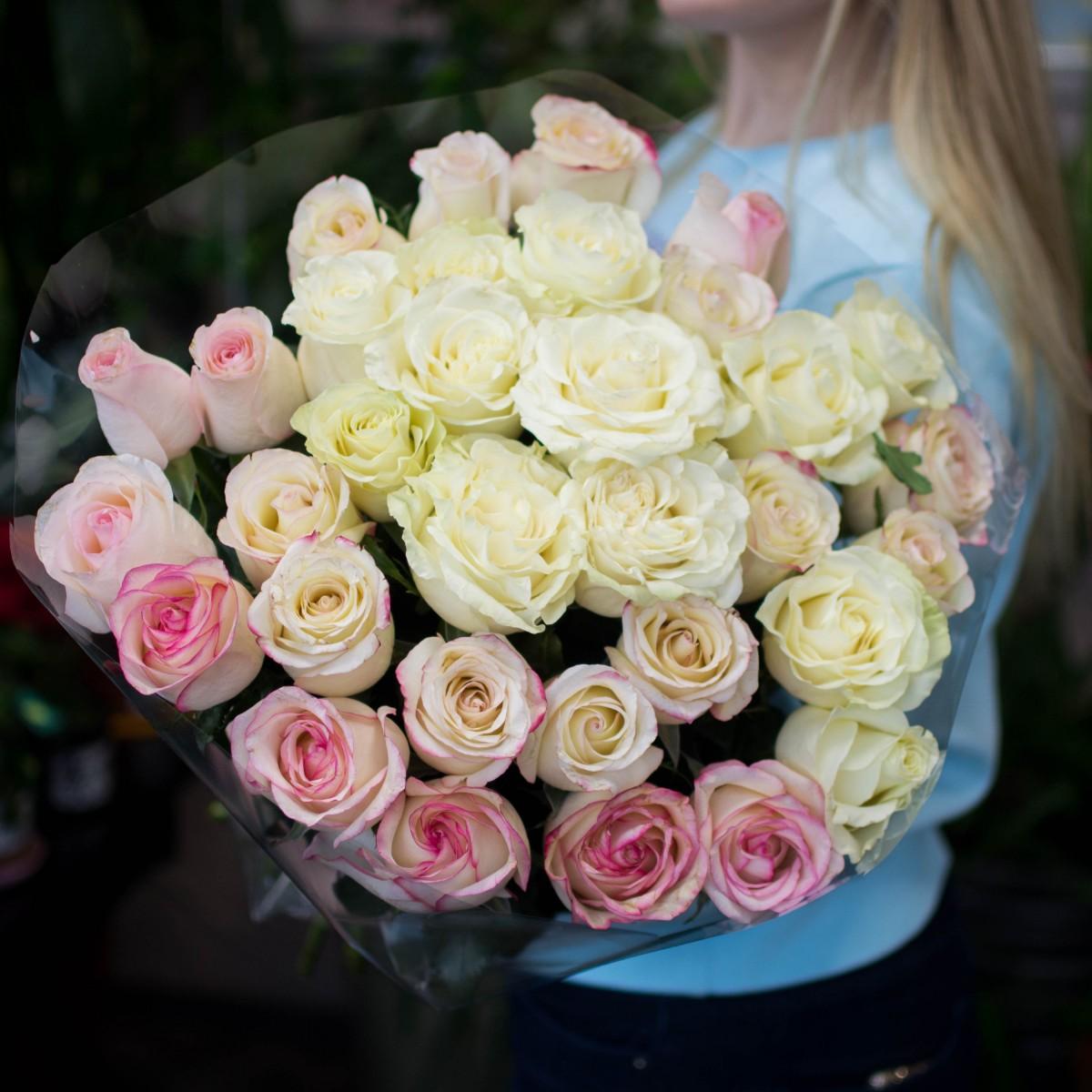 Роза 35 шт.