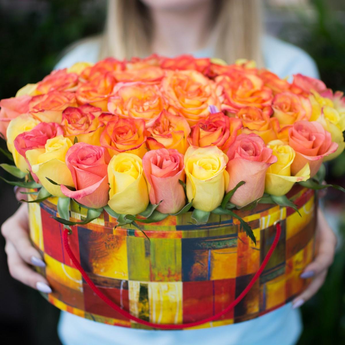 Цветочная коробка 4