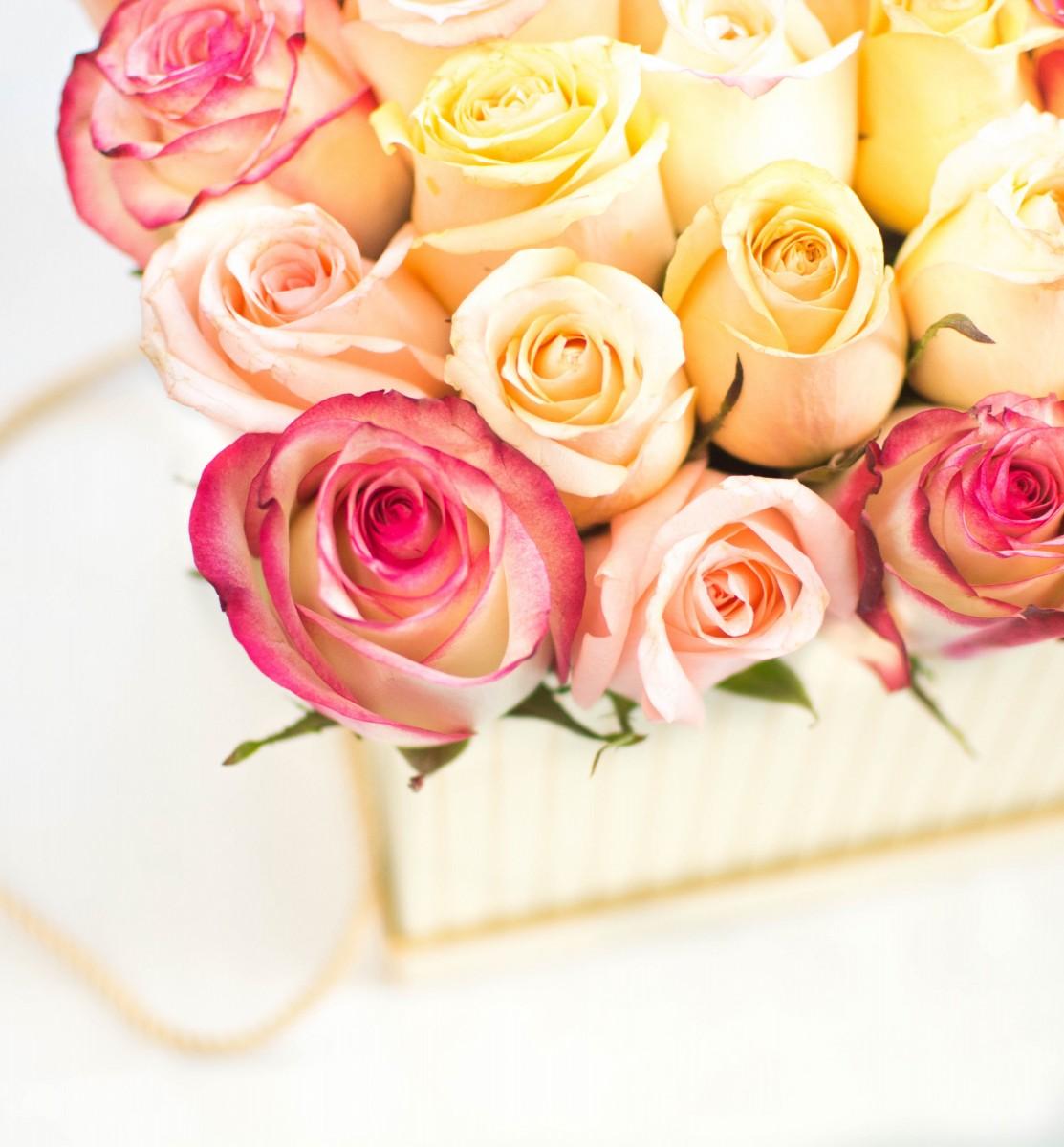 Цветочная коробка 8