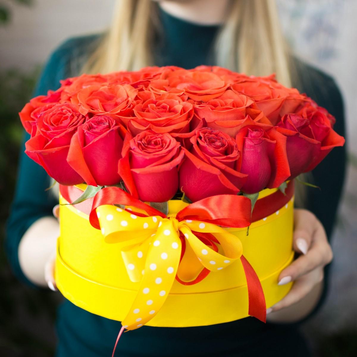 Цветочная коробка 10