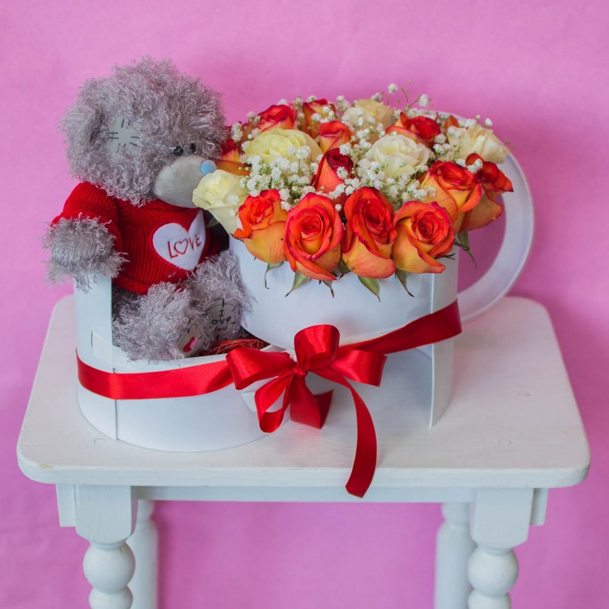Цветочная коробка 13