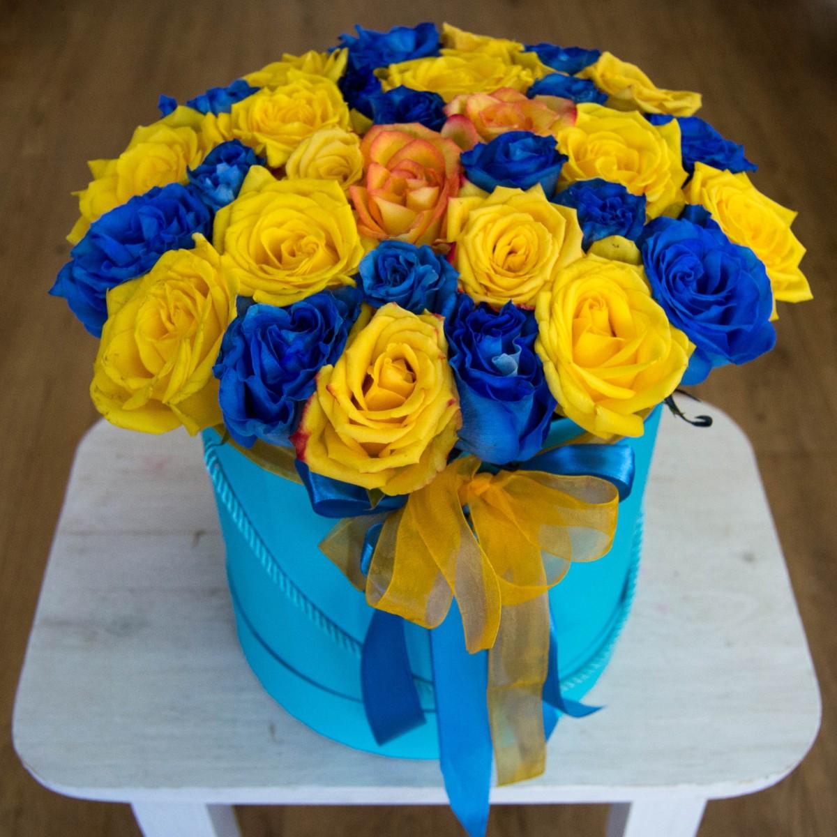 Цветочная коробка 16