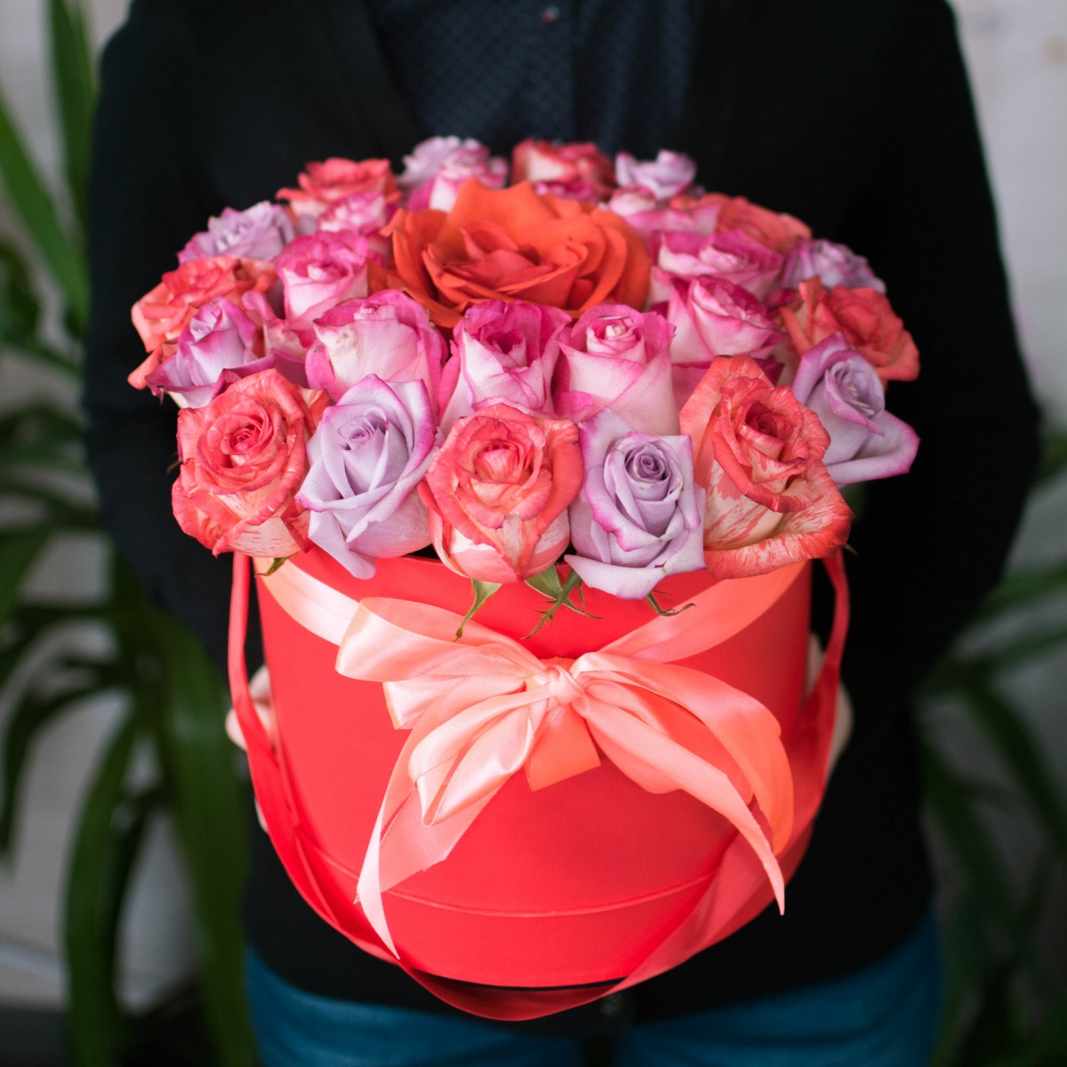 Цветочная коробка 17