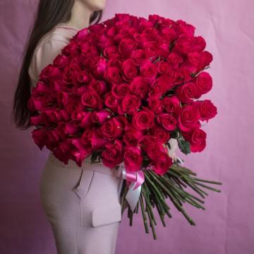 101 роза Gotcha 70 см