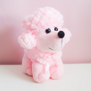 Пудель розовый