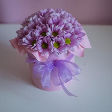 Мини Box из хризантемы