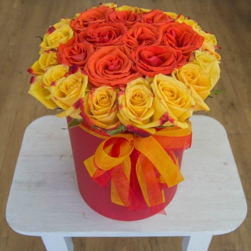 Цветочная коробка 15