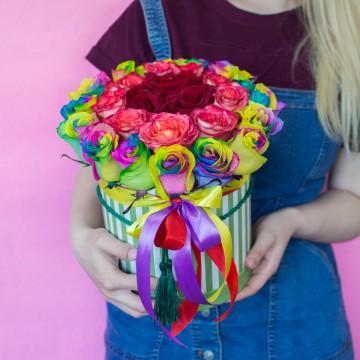 Цветочная коробка 19