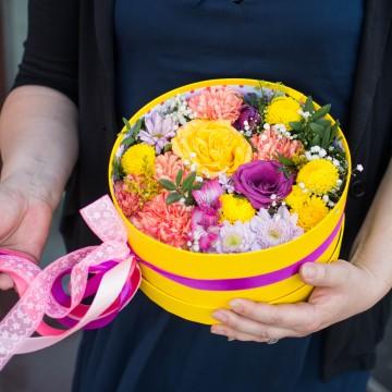 Цветочная коробка 23